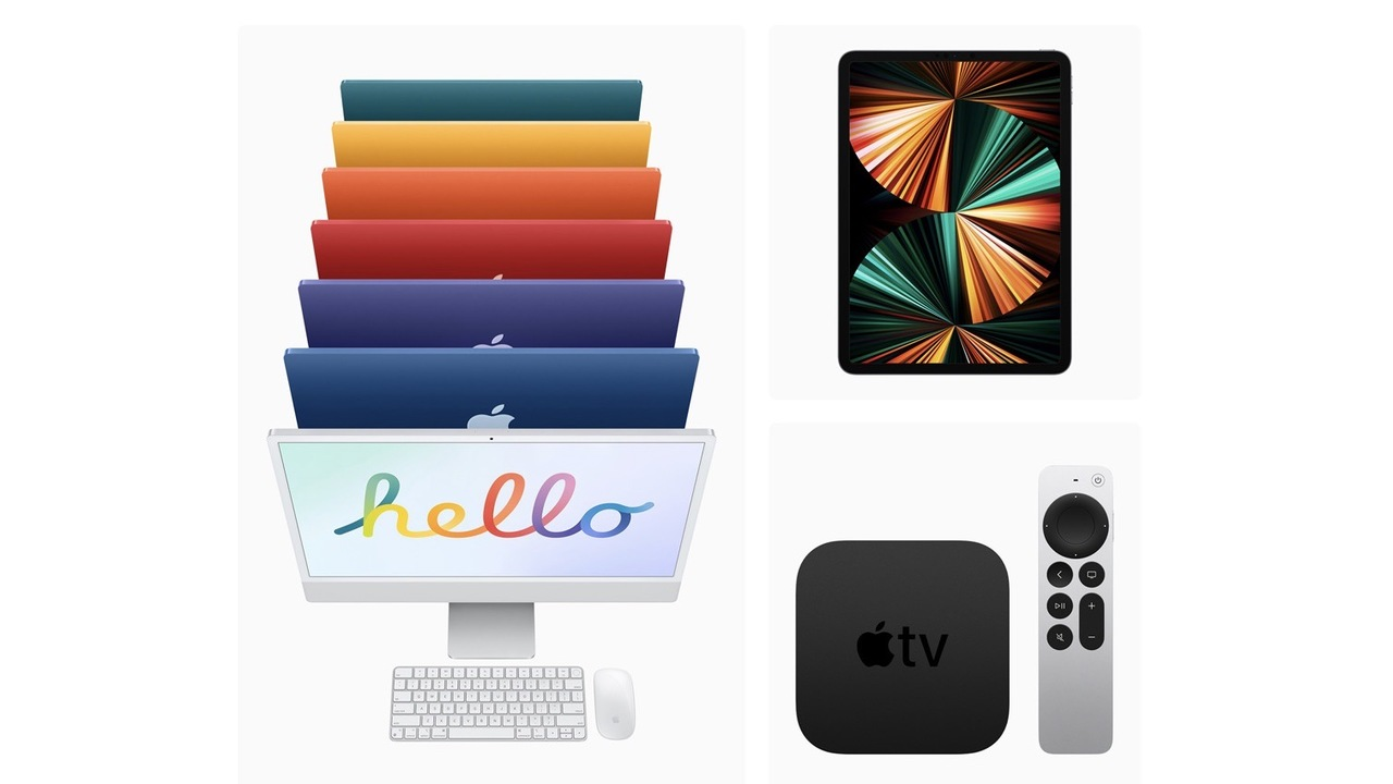 新型iMac、iPad Pro、Apple TV 4Kは明日5月21日(金)より販売開始!