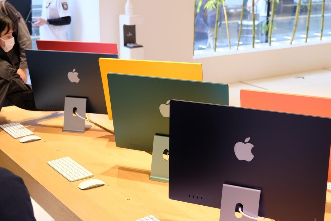 今日は新型iMacの発売日! アップル丸の内で全カラー見てきました