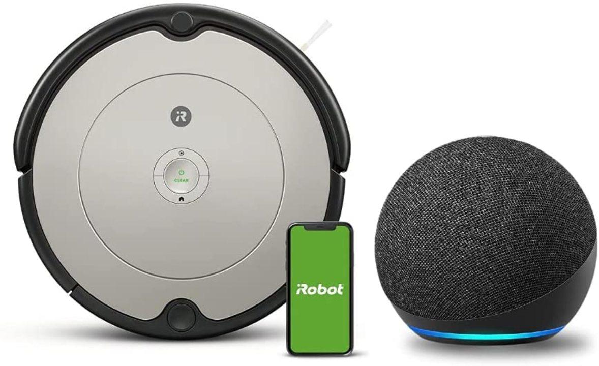 【Amazonセール】ルンバとEcho Dotのセットが2万9800円。Echo Dot実質2,000円のハッピーセット