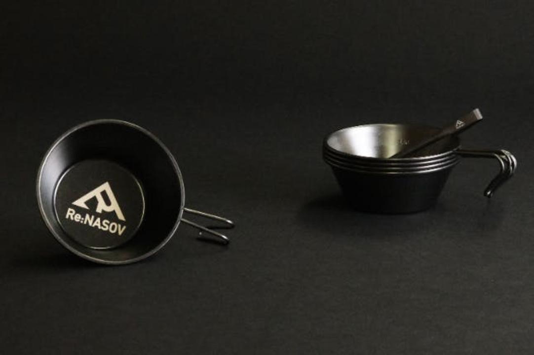燕三条の技術が光る! キャンプ飯のお供に良さげな漆黒万能シェラカップが登場