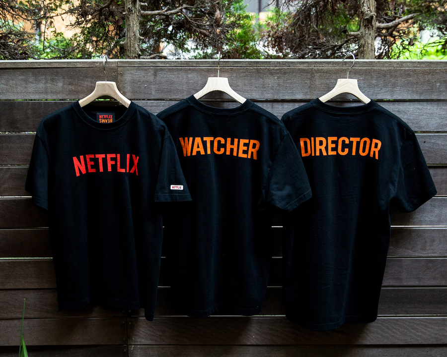 NetflixとBEAMSがコラボ! なにげに初のネトフリ公式アパレルです