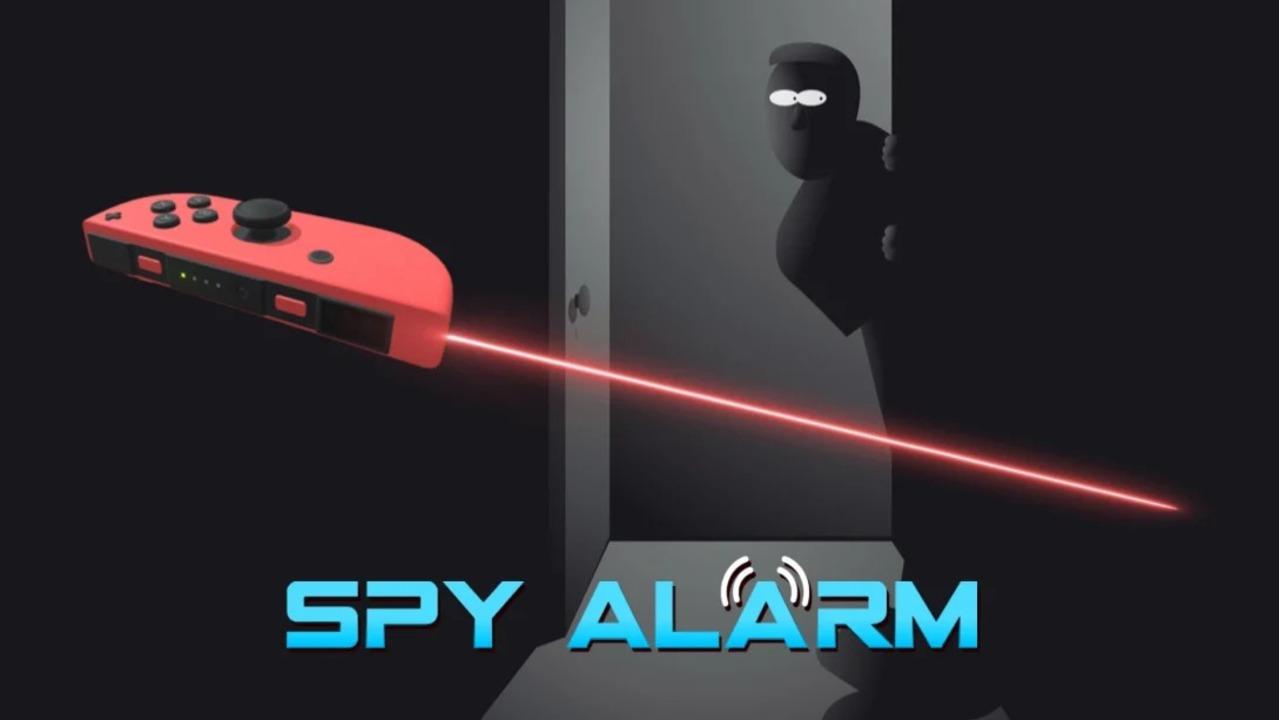 スパイ映画で見るやつ。ジョイコンを赤外線防犯装置にする「Spy Alarm」
