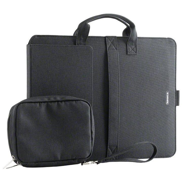 開いて3秒で作業開始! ノートPCスタンドになりマウスパッドも装備したバッグ