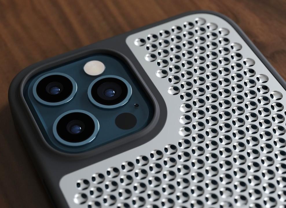 チーズおろせる? Mac Pro風のiPhone 12用ケース、3D印刷用データがダウンロードできるよ