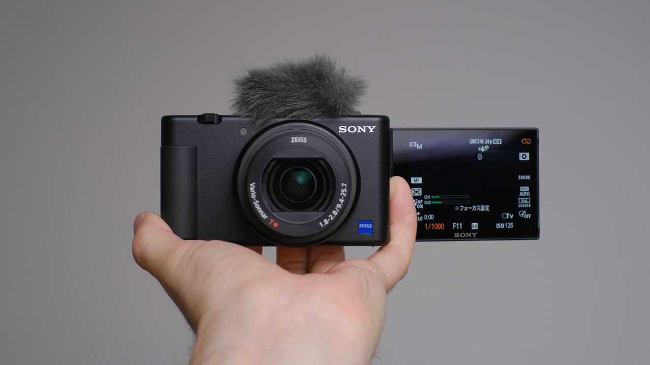 ソニーの新型APS-CカメラはVlog向け?
