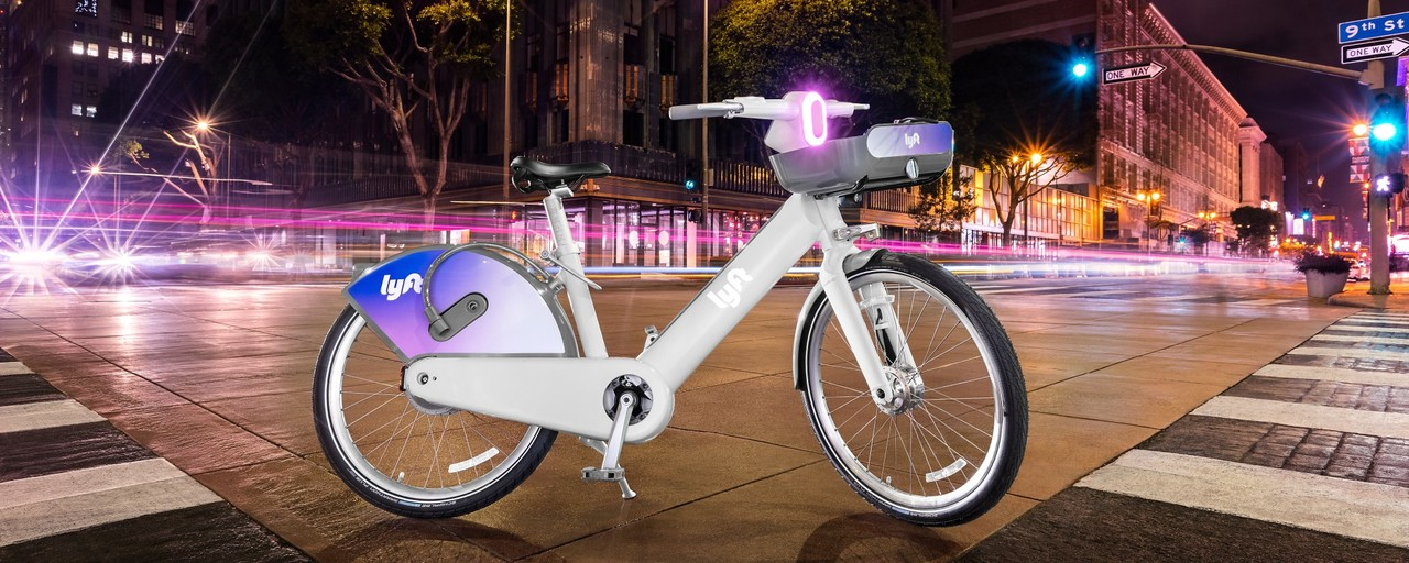 Lyftのレンタルeバイク、LCDスクリーンとスピーカーを搭載し未来的なデザインになる