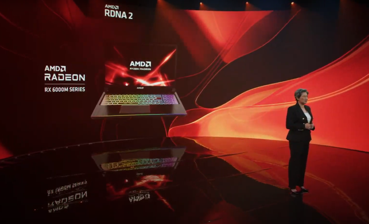AMDの新GPU「RX 6000M」、NVIDIAとの戦いに臨む
