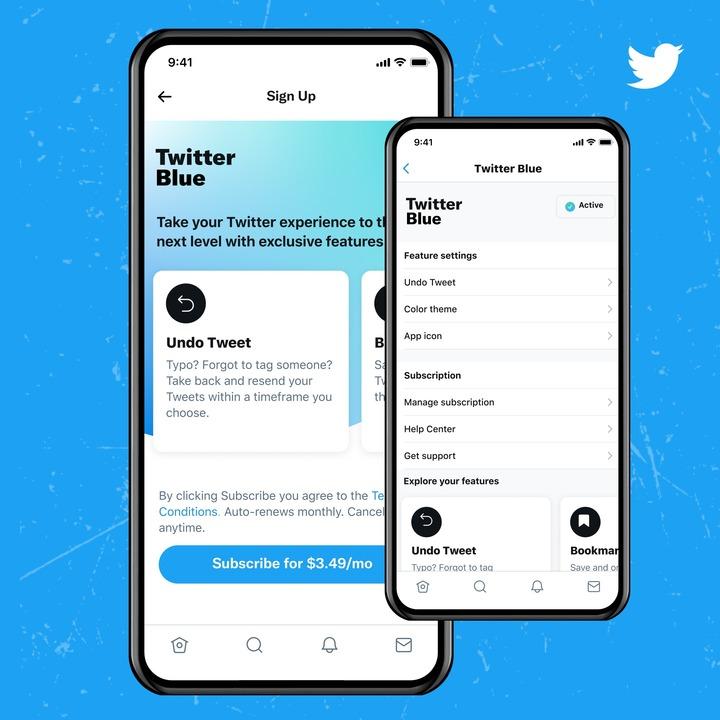 課金したい?有料サービス「Twitter Blue」がオーストラリアとカナダで開始