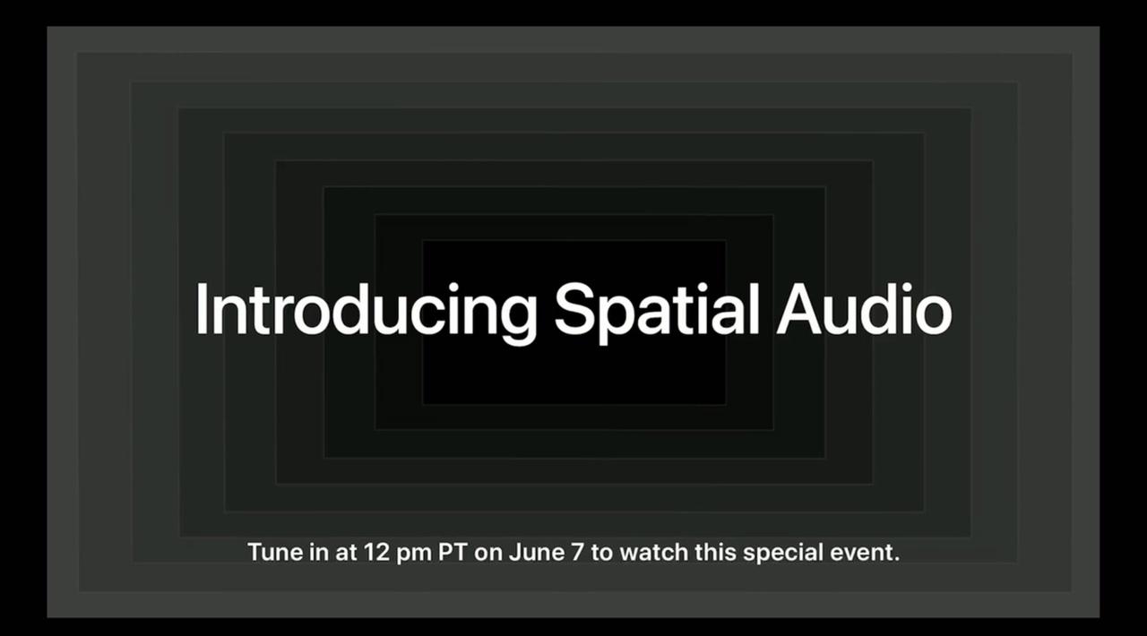 おや、アップルの空間オーディオ関連イベントも今夜あるみたい