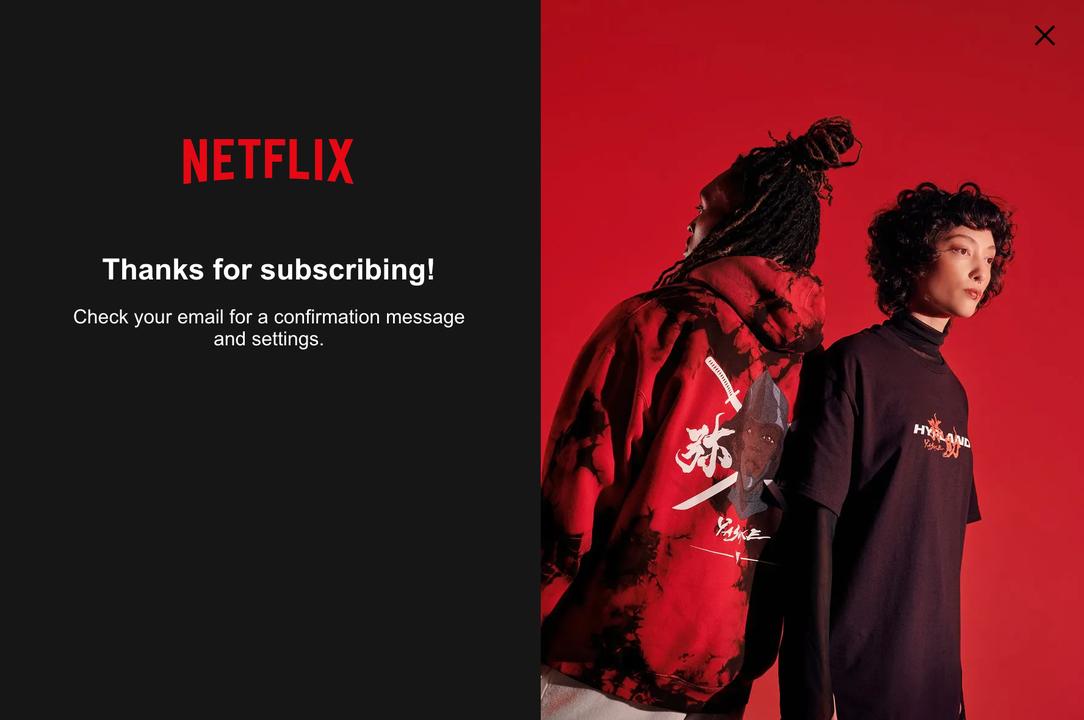 あの即完売商品も買えるようになるぞ! NetflixがECサイトをオープン