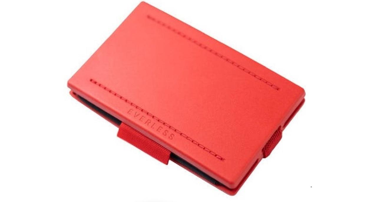 カードサイズに折り畳めて型崩れしにくいエコバッグ「EVERLESS」が便利!