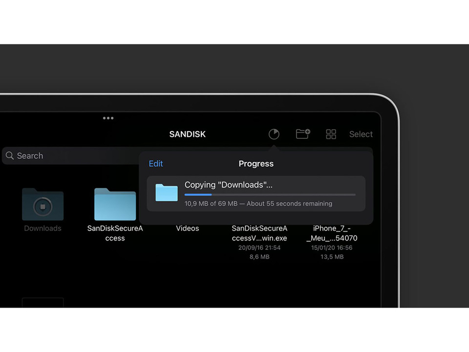 iPadOS 15のファイルアプリ、さらにMacっぽく