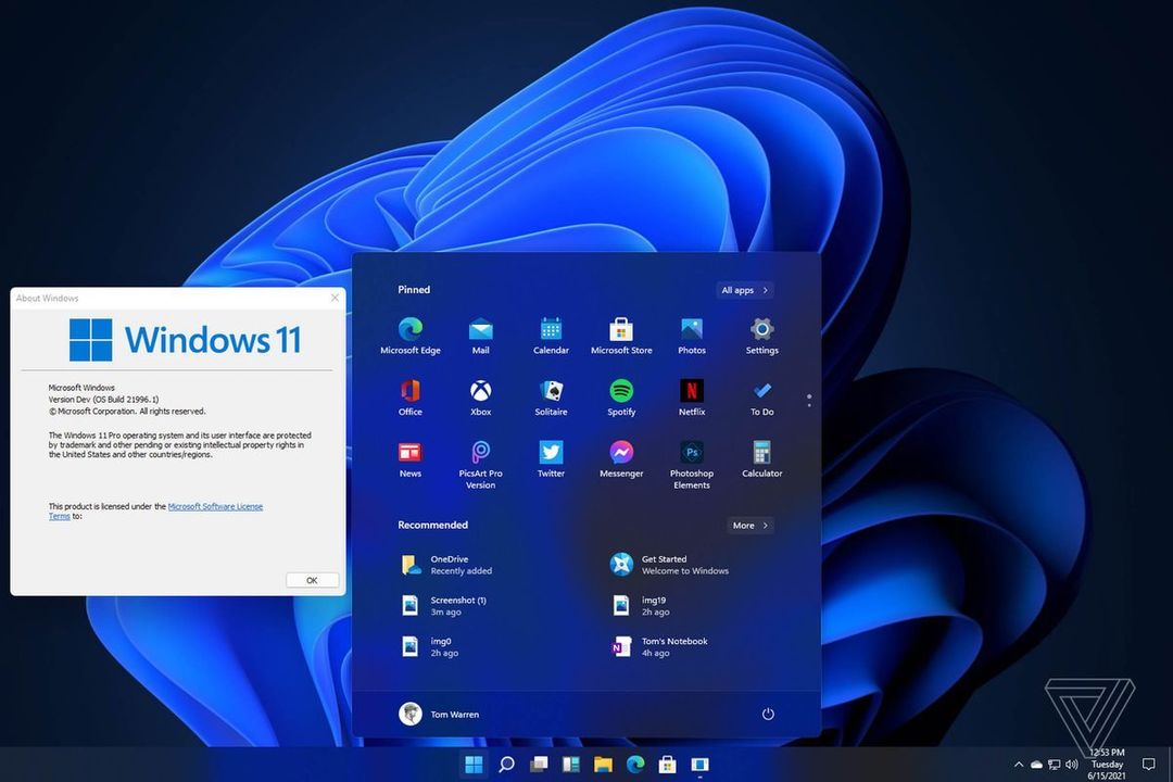Windows 11のスクショが流出しまくり