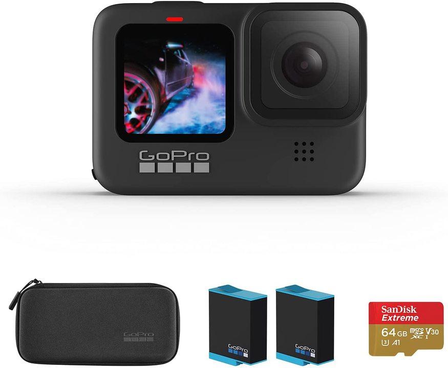 【Amazonプライムデー】付属品たくさん!「GoPro HERO9 Black」のVlogスターターセットが1万4000円もOFFになってる!