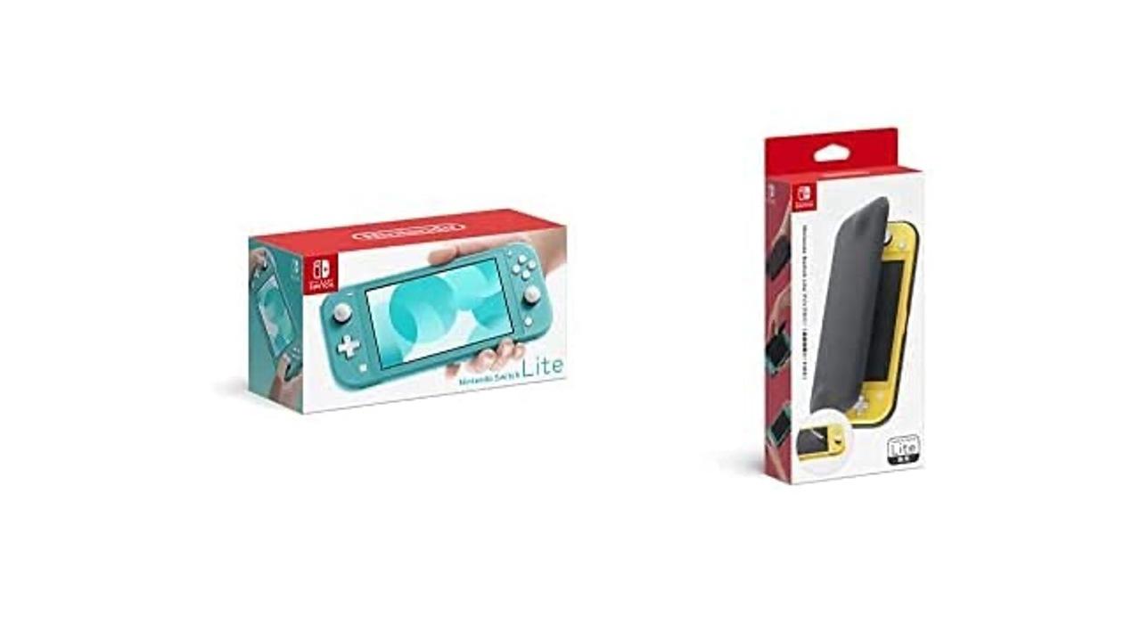 【Amazonプライムデー】久しぶりに来た! Nintendo Switch Liteがフィルム+カバー付きで2万3000円だよ
