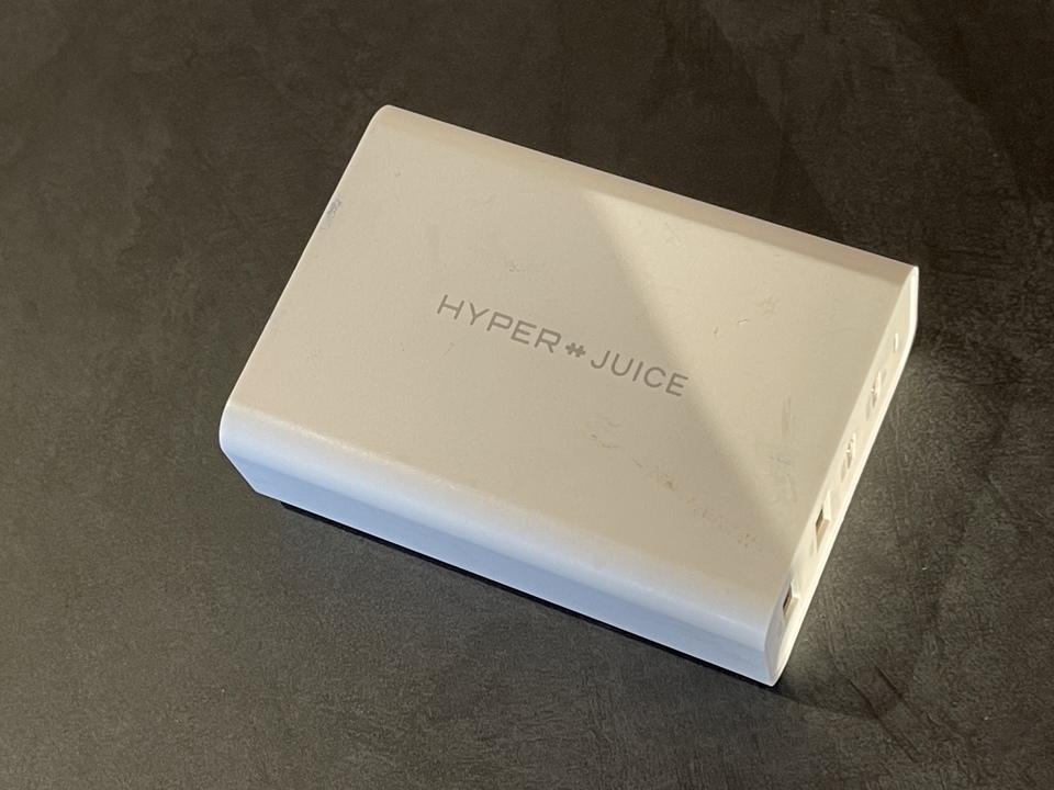 【Amazonプライムデー】ギズモード編集部で愛用者が多いマルチな充電器「HyperJuice 100W GaN」が20%オフに!