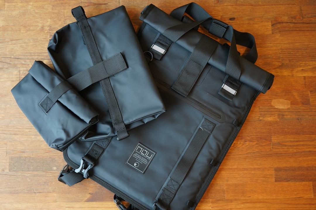 荷物が増えたらモジュールをアドオン! 薄さ2cmの極薄防水バックパック「Unico」を使ってみた