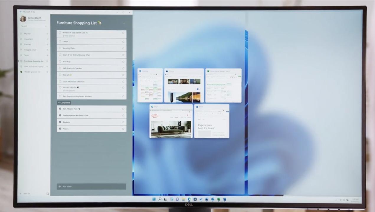 Windows 11は「ウィンドウの整理整頓」が得意なようです
