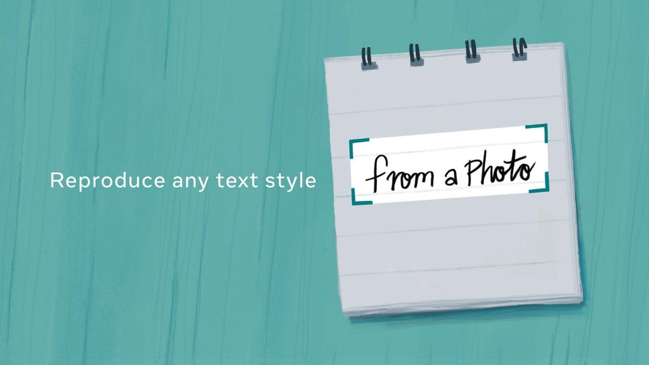 たったひとつのワードから、手書きのスタイルを完コピできるAI誕生