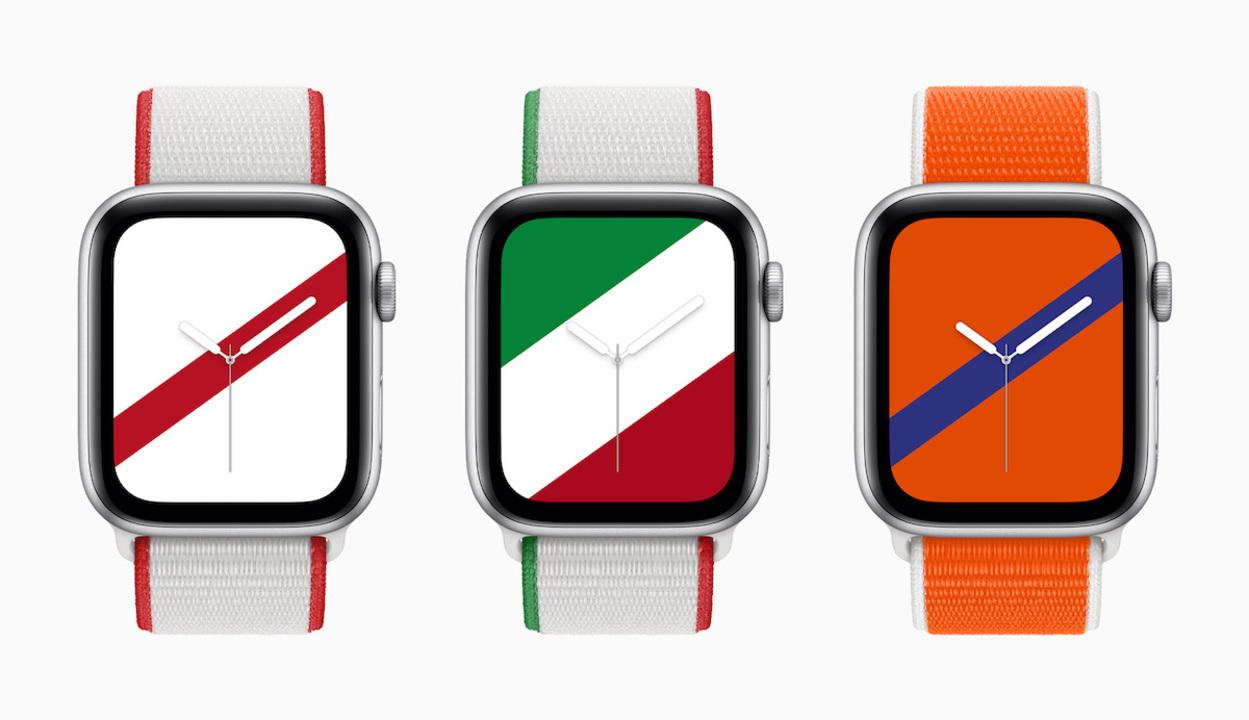 Apple Watchに国旗モチーフのバンドが登場。文字盤だけのダウンロードもOK