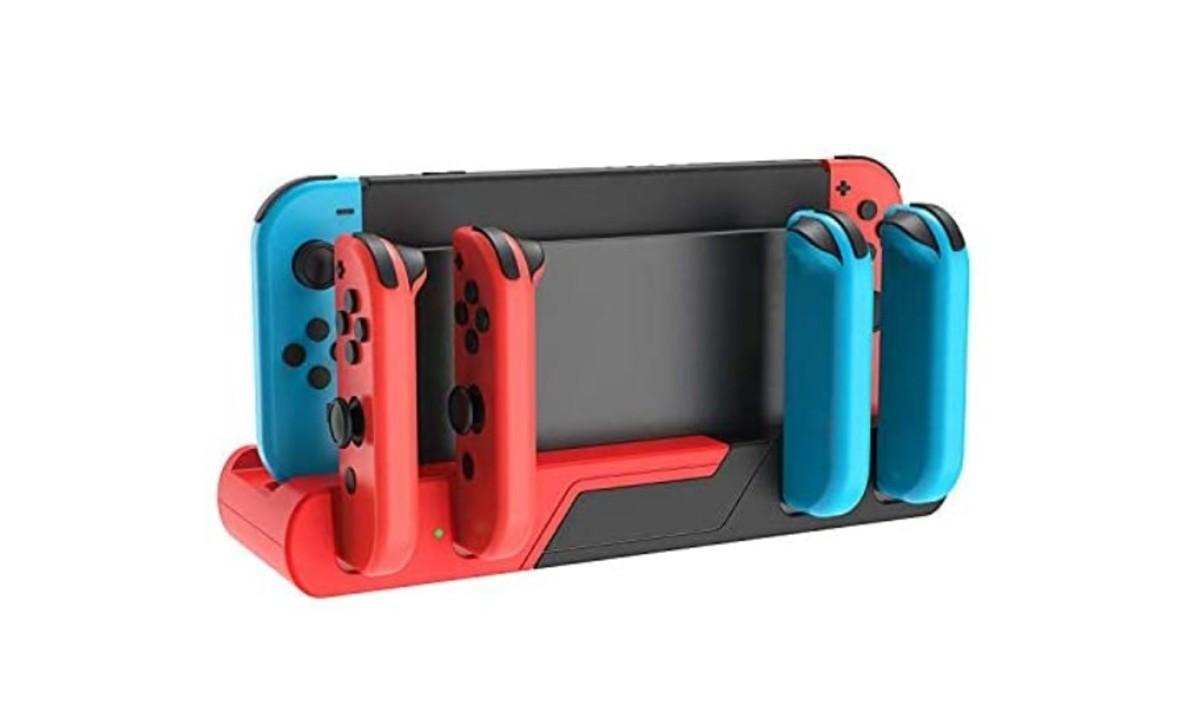 【Amazonタイムセール中!】Nintendo Switch対応の1,000円台スタンド充電器や修理セットなど
