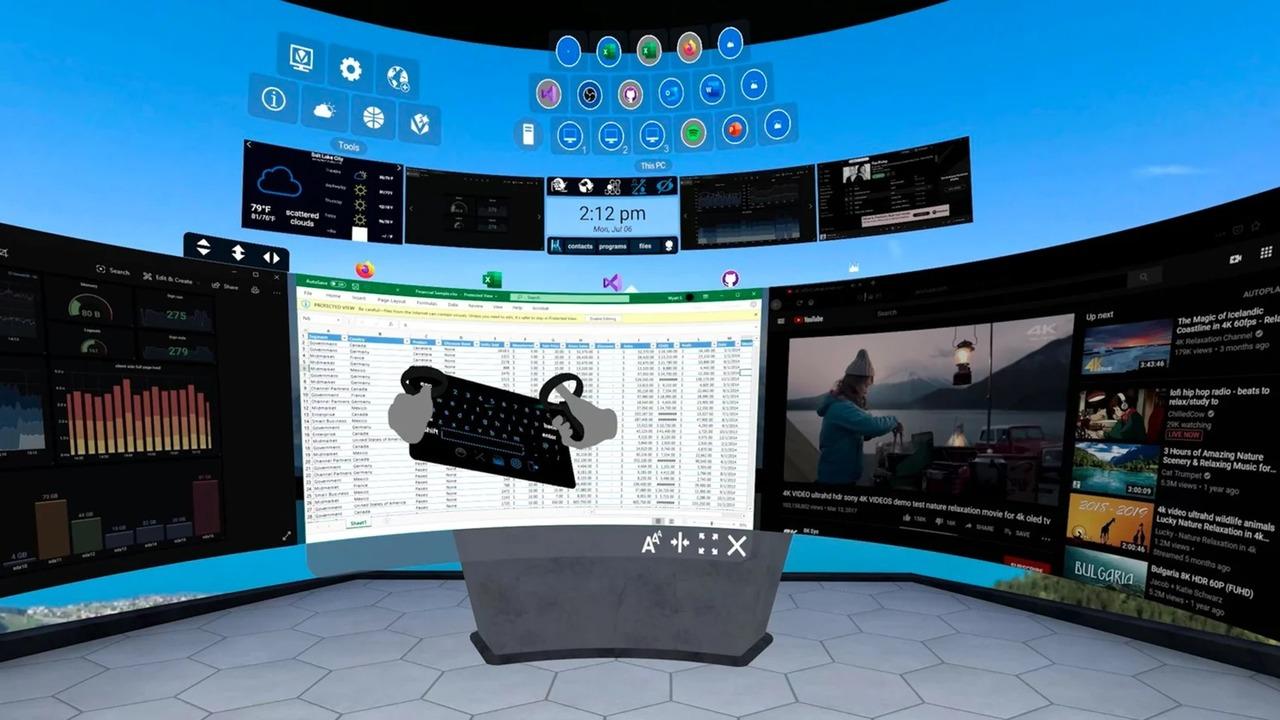 「Oculus Quest 2」を使ったVRオフィスでの働き方