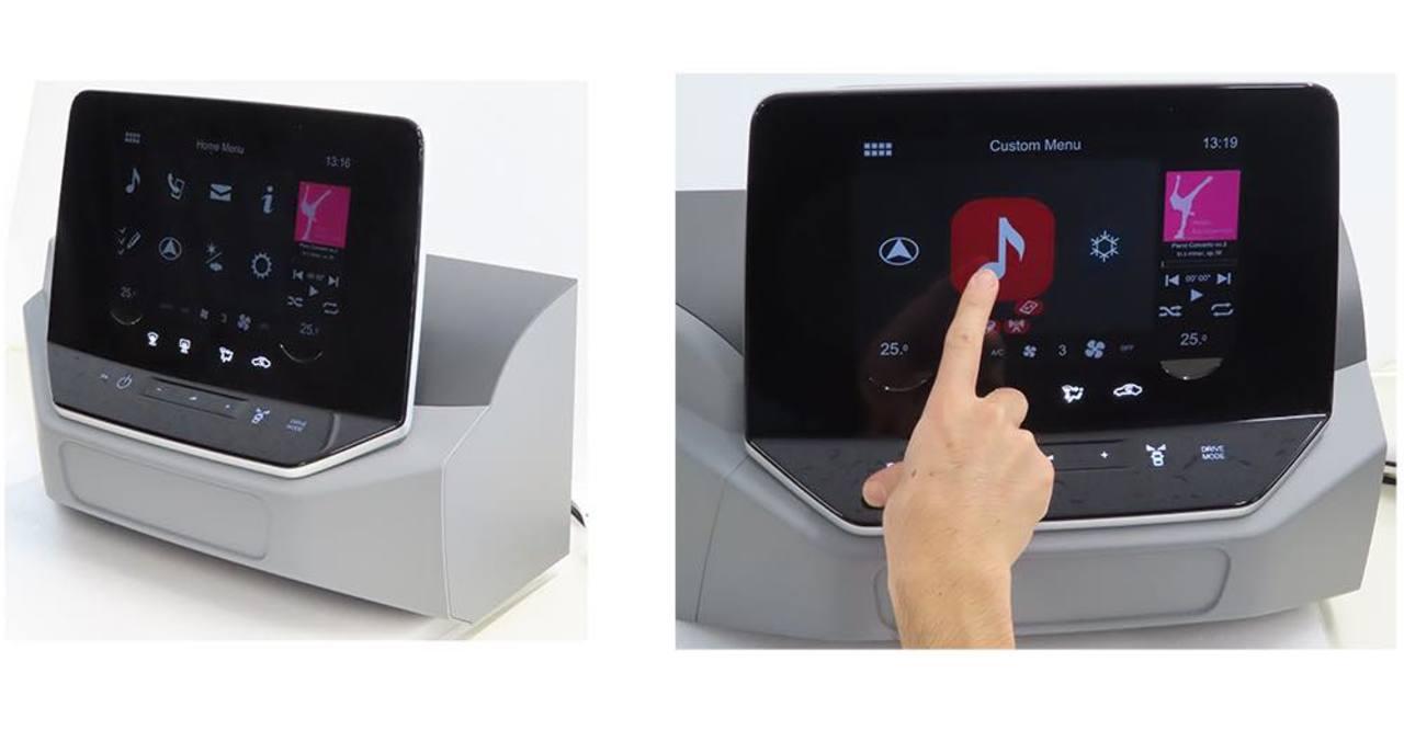 次世代カーナビは「手を近づける」も認識。ホバー操作対応パネルが開発中