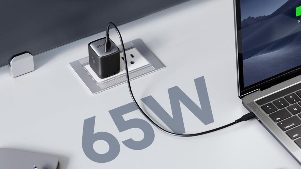あらゆる面で最強、アンカーの小型65W急速充電器がついに出た!スマホからPCまで全部これひとつでOK
