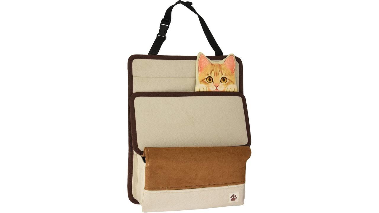 くそっ! ただの後部座席用収納なのにネコひょっこりだから欲しい