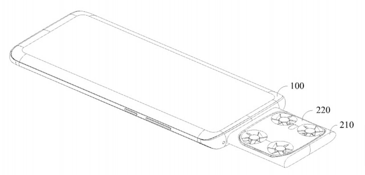 飛行中はブレないかな? Vivoが空撮用ドローンを内蔵したスマホの特許を出願