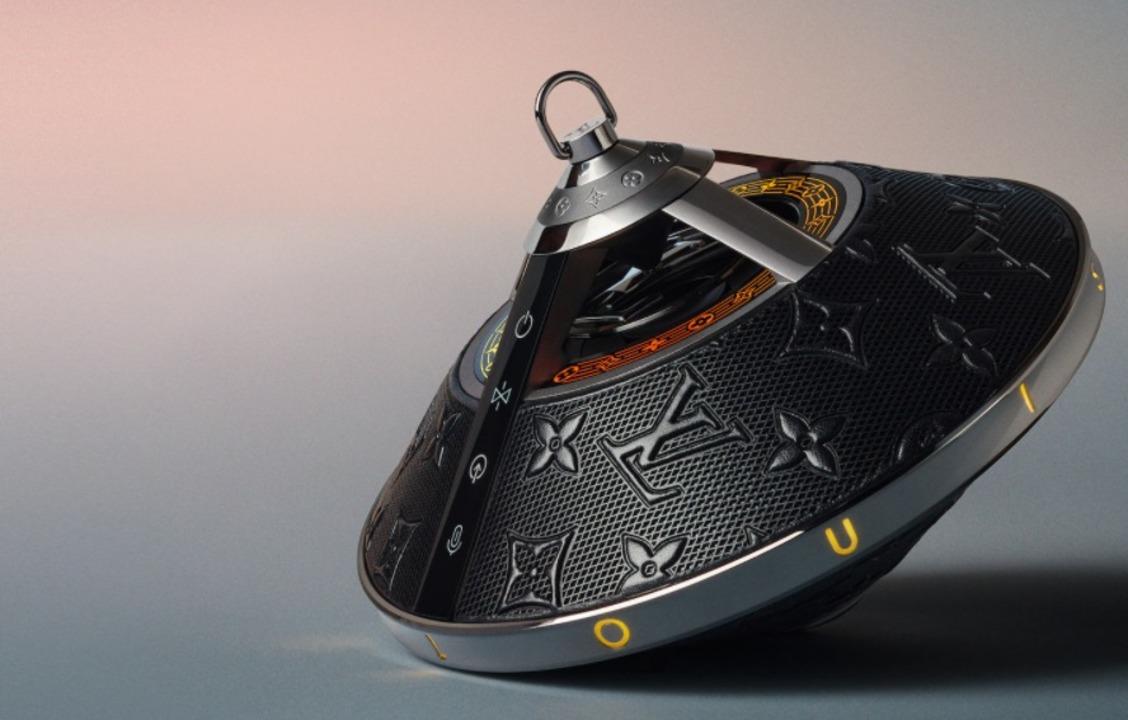 ルイ・ヴィトンがUFO型の360度無線スピーカーを作る。光の演出が「ゲーミング」感ある
