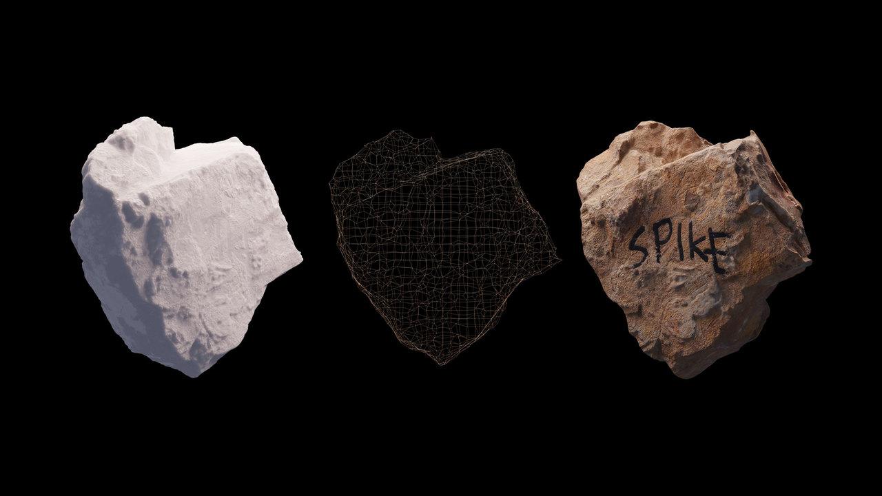 バンクシーの隕石CGアート「SPIKE」、NFTの競売に出される