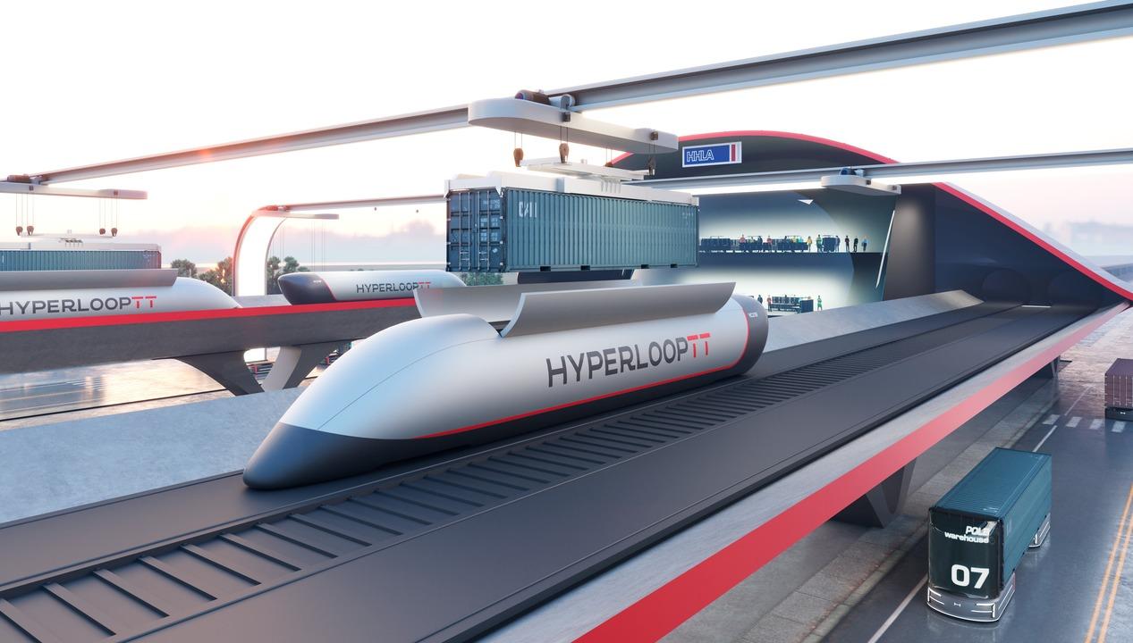 最高時速600kmで1日2,800コンテナを輸送! ハイパーループTTがハンブルグに「ハイパーポート」の建設を計画