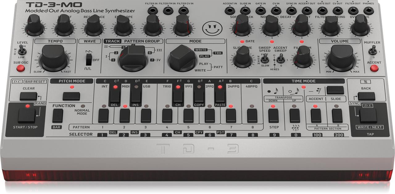 ベリンガーがMOD化した「TB-303」のクローンを正式発表。199ドルでレアなサウンドが手に入る!