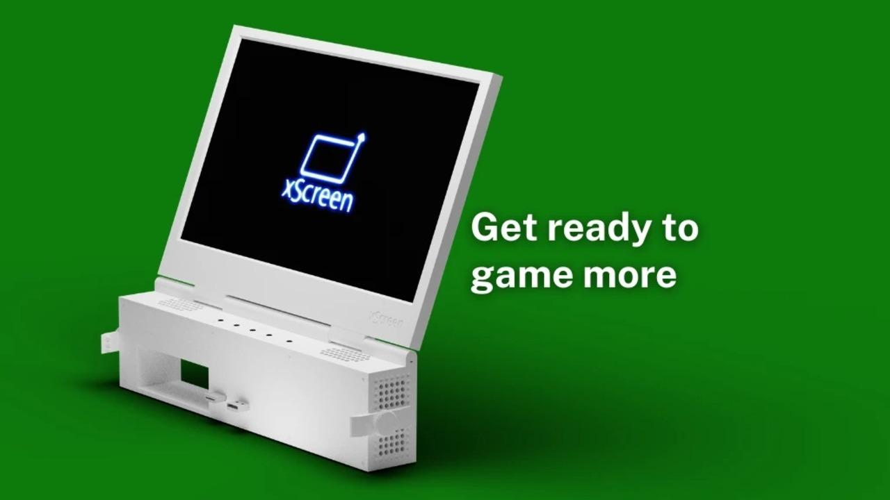 Xbox Series Sと合体する11.6インチのモニター「xScreen」。テレビがなくても遊べるぞ!