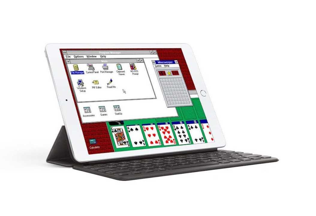 「iDOS」ならiPadでWindowsが動くぞ…ただし30年前の