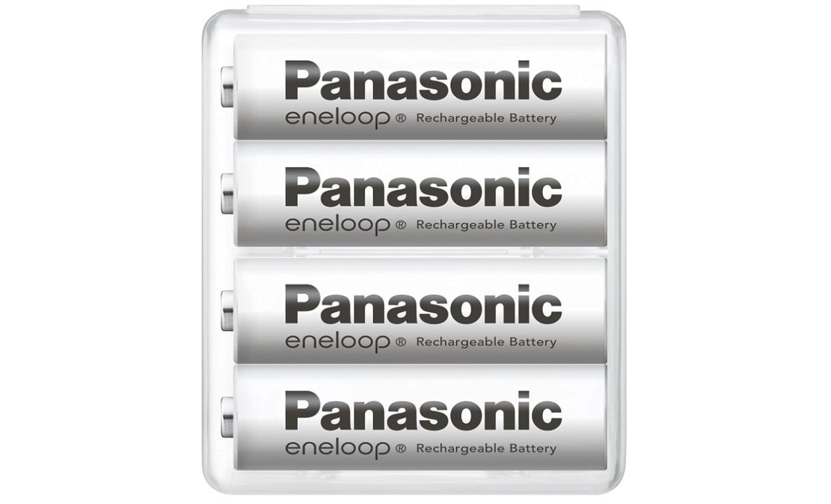 【Amazonタイムセール祭り】まもなく終了!エネループ単3形4本セットが1,160円、急速充電器とセットでどうぞ
