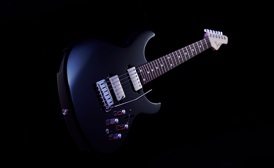 シンセサウンドをかき鳴らせ! シンセサイザーを演奏できるエレキギター「EURUS GS-1」