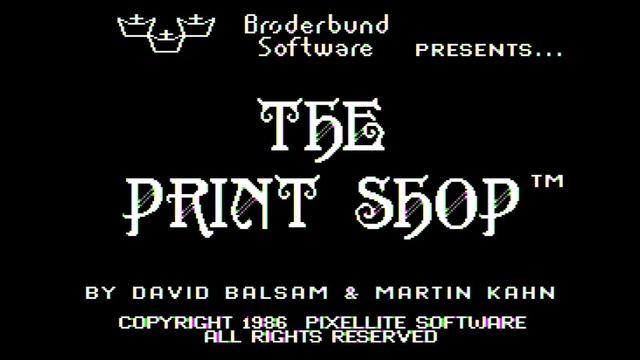 レトロでかわいい! 80年代風のデザインが作れる「The Print Shop」がブラウザで復活