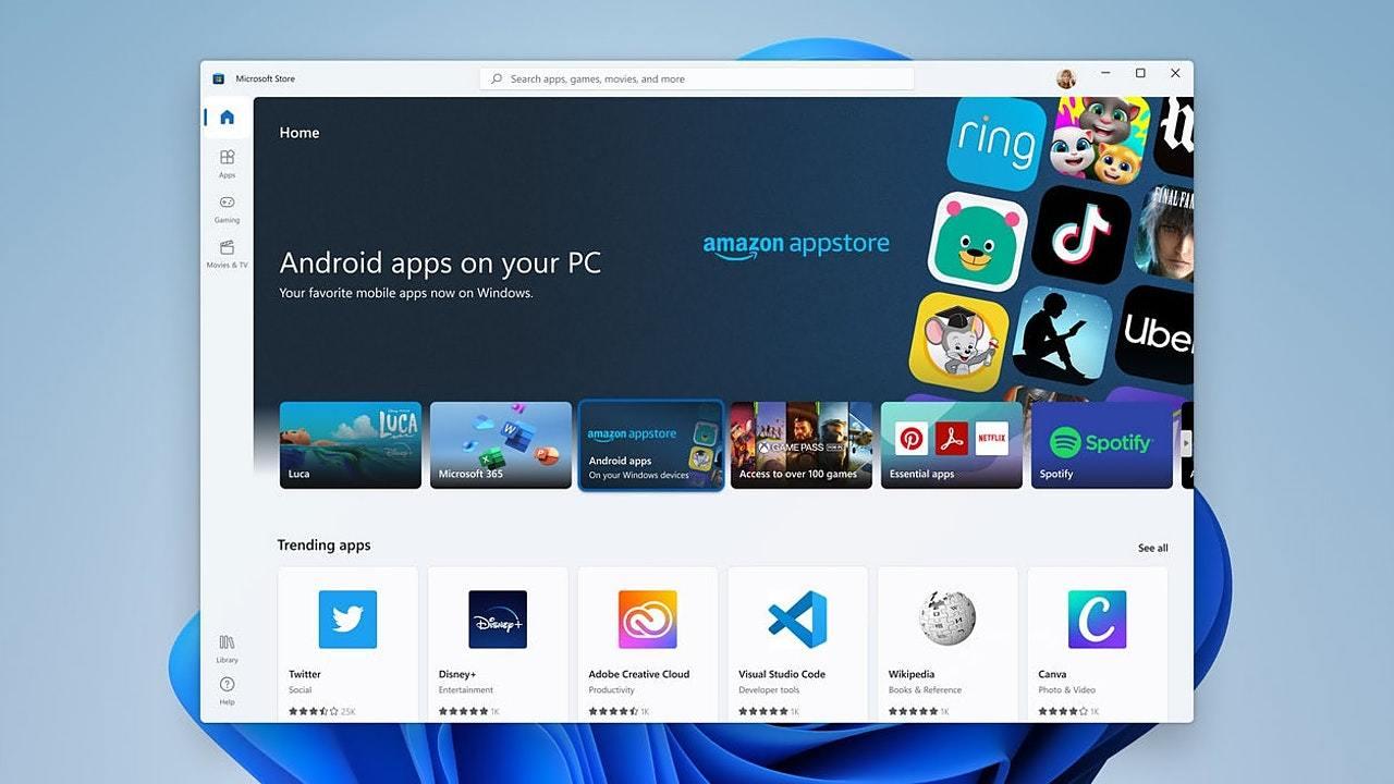 Windows 11でAABフォーマットのAndroidアプリがサイドロードできるようになる…?