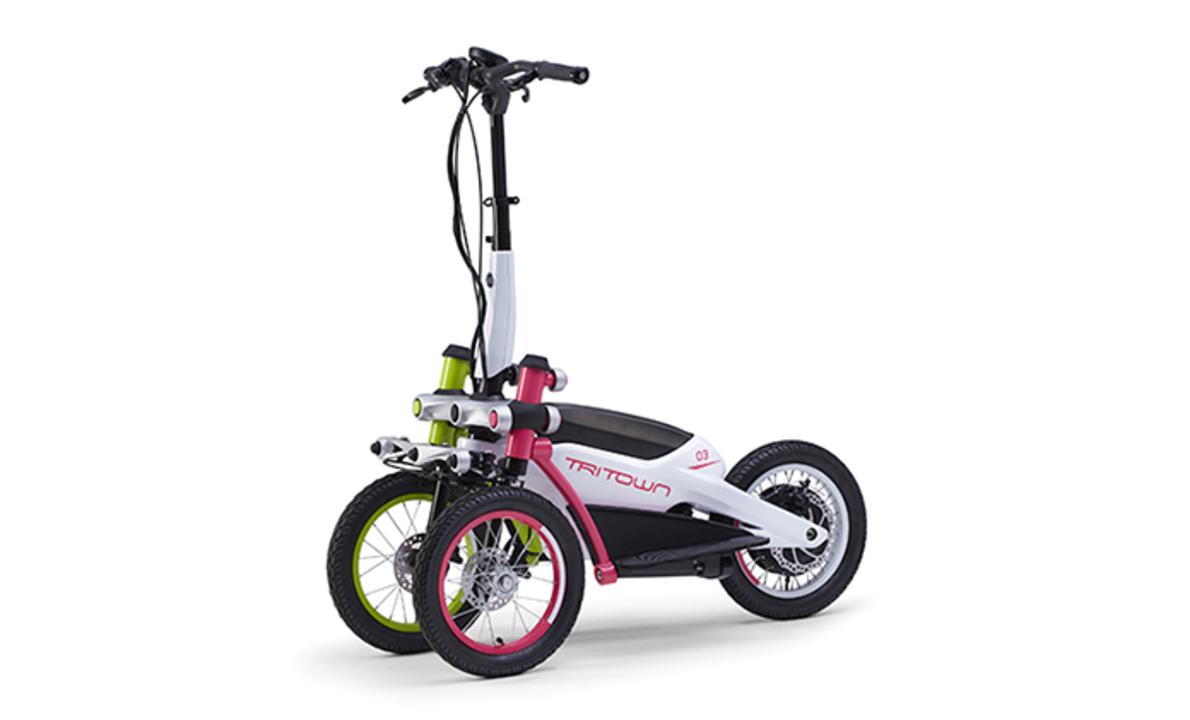 ヤマハがeスクーターの代わりに作った3輪の「トリタウン」、近々登場か?