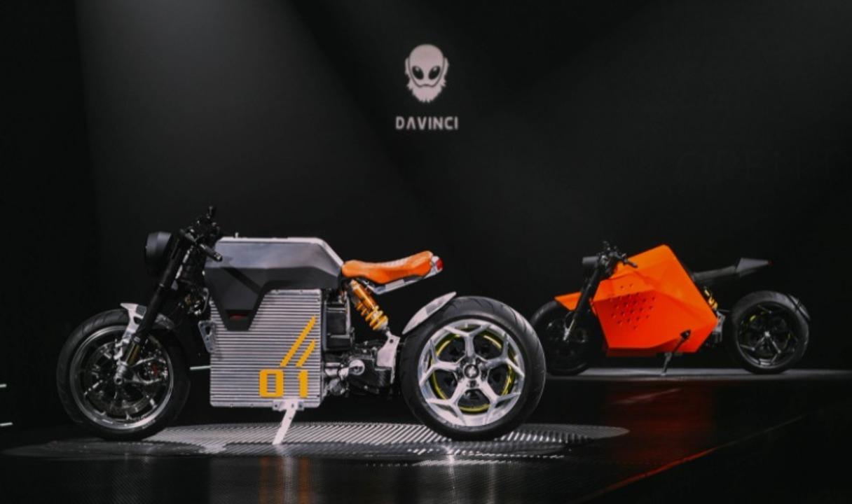 未来的&クラシカル。中国のEVバイクDavinci Techからリッターバイク級の2車種が登場