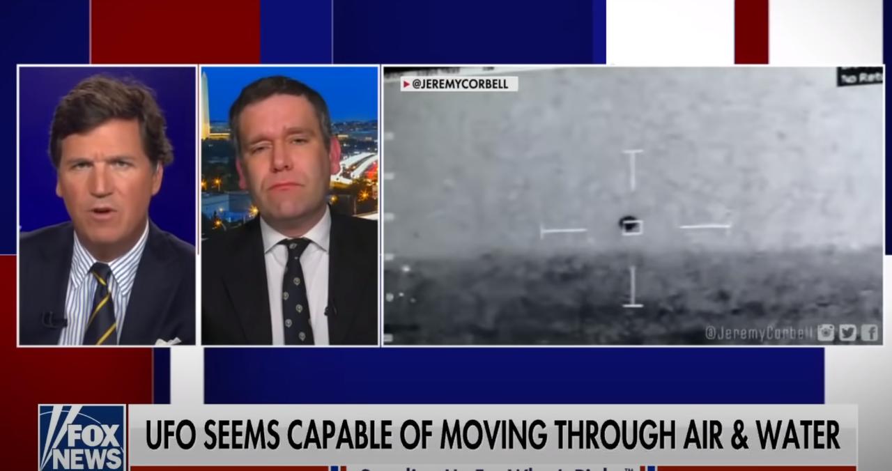米海軍、水中を数百ノットで移動する謎の飛行潜水物体を検出