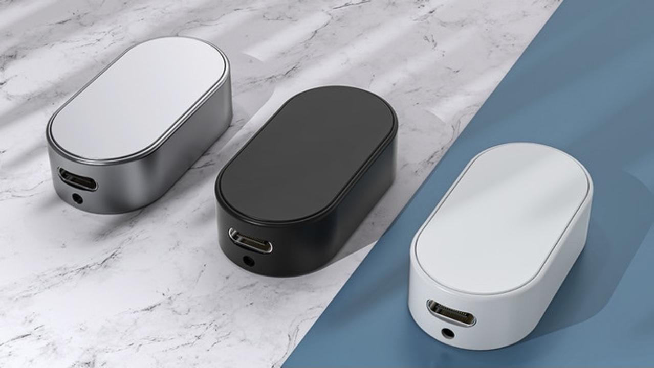 親指サイズの世界最小無線マウス「ZeroMouse」。レーザーポインター付きでプレゼンにも