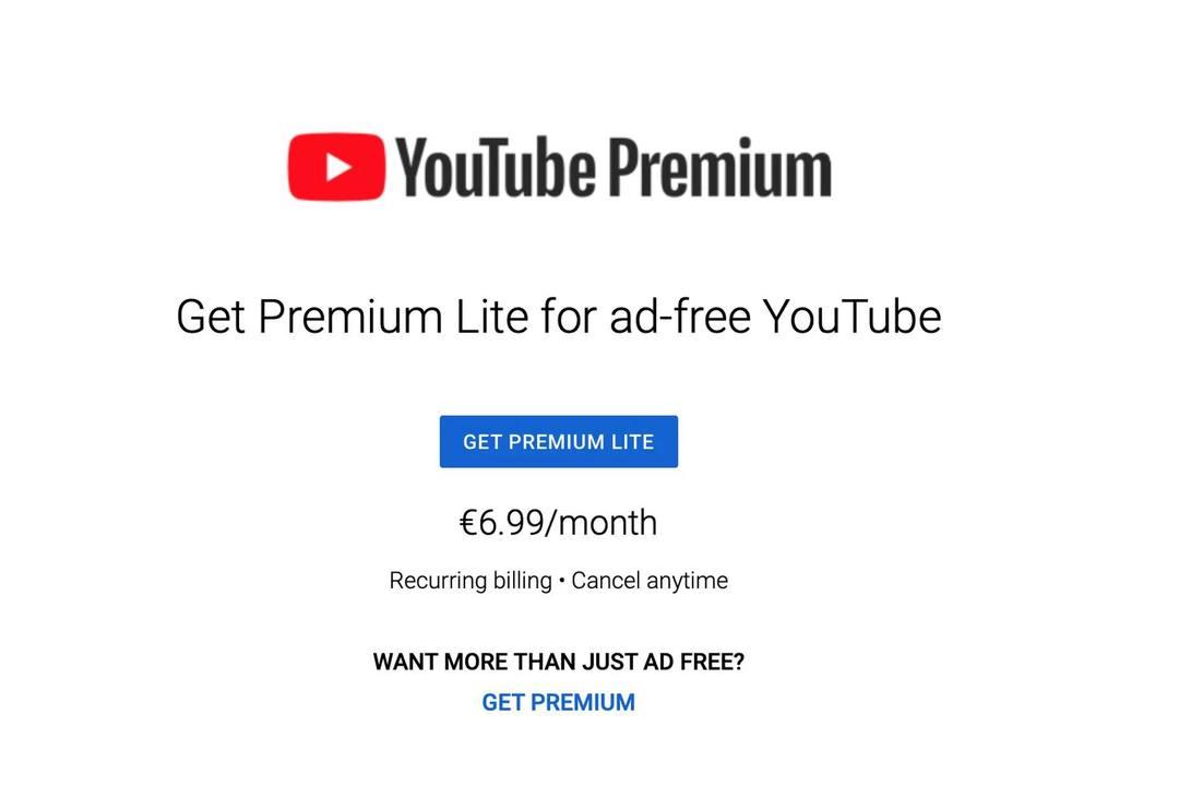 コレで十分じゃん? YouTubeの広告カットだけできる「プレミアムライト」テスト中