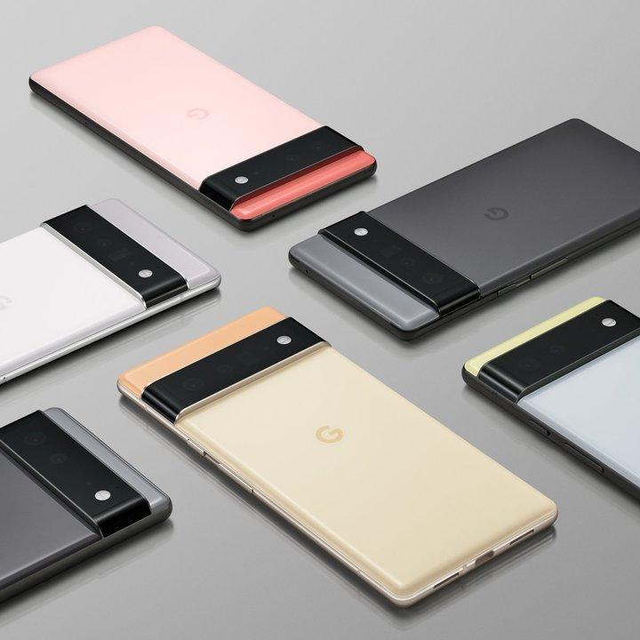 「Google Pixel 6」シリーズのデザインと一部仕様が発表! 独自SoC搭載ですって