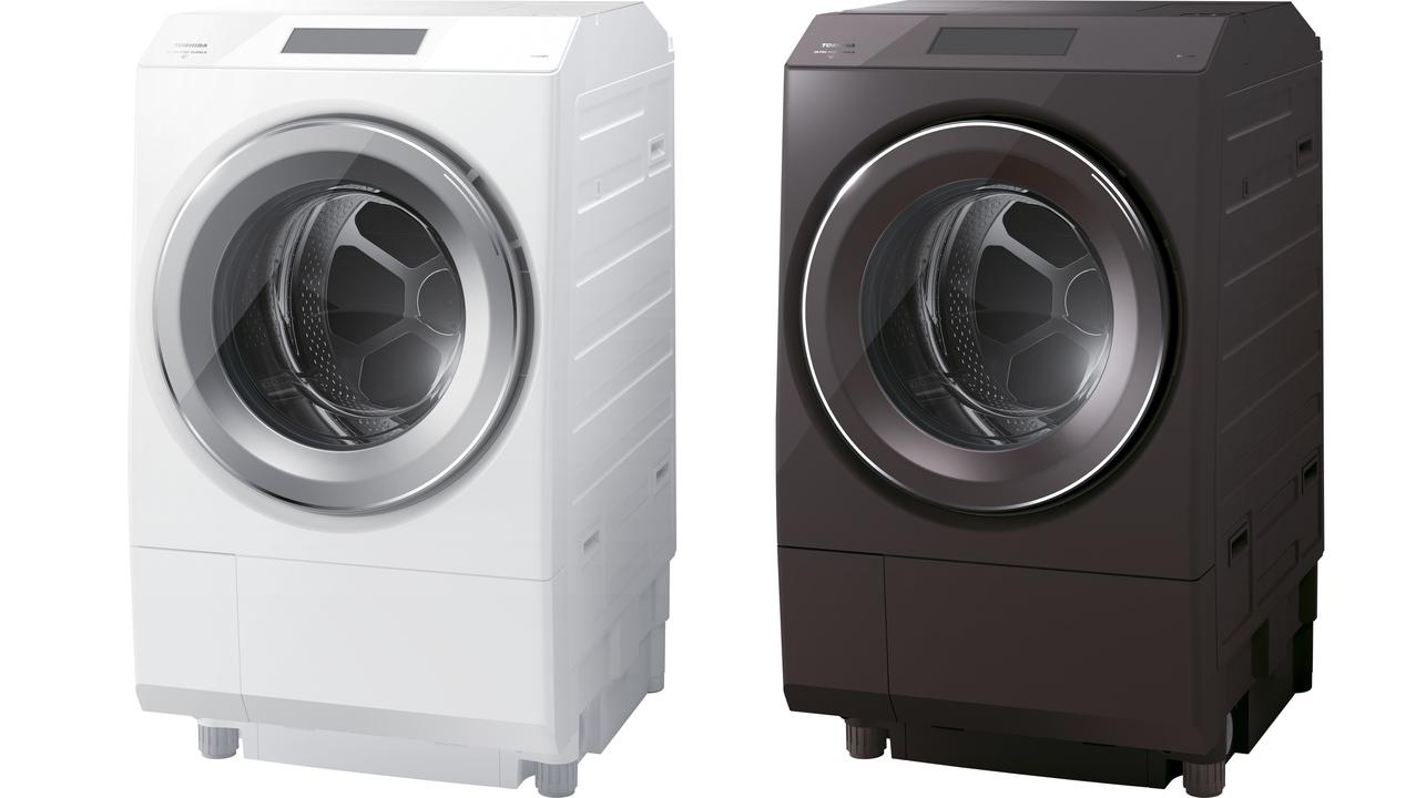 洗濯機の進化が止まらない。東芝のドラム式、洗濯しながらUV除菌もできる