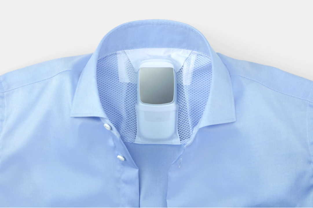 これなら目立ちません。ソニーの冷感・温感デバイス対応シャツで暑い夏を乗り切ろう!