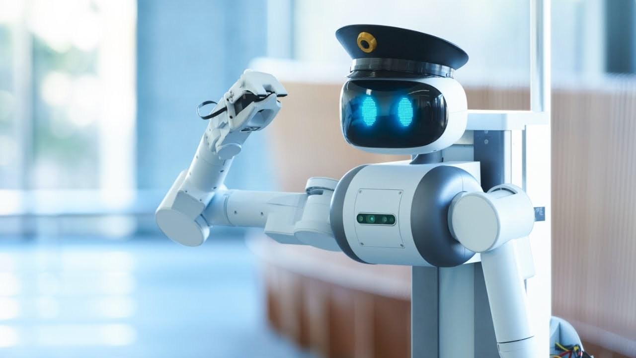 コストは警備員の半分。ゲームパッドで操作もできるアバター警備ロボット「ugo」