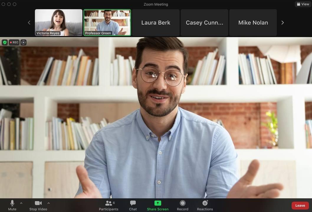 はーい、Zoom授業はよそ見禁止ですよー。Zoomの新モードがオンライン授業を救いそう